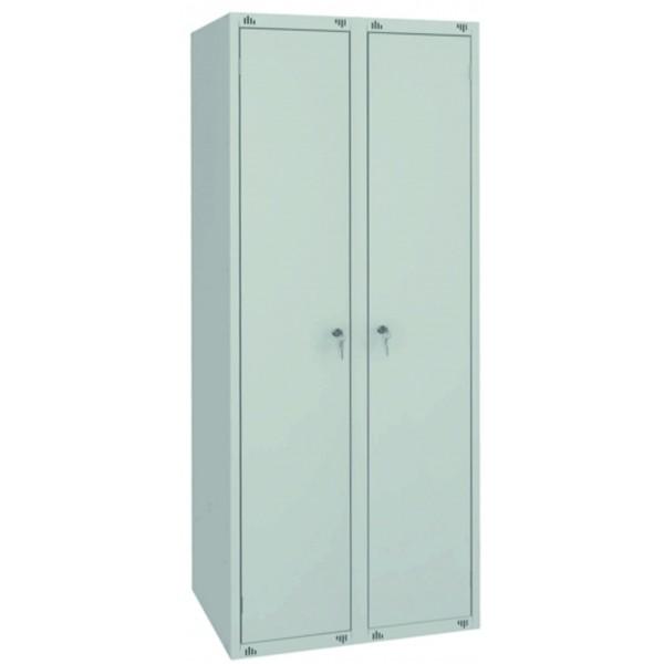 Металлический гардеробный шкаф ШМ-22(600)-1850х600х490