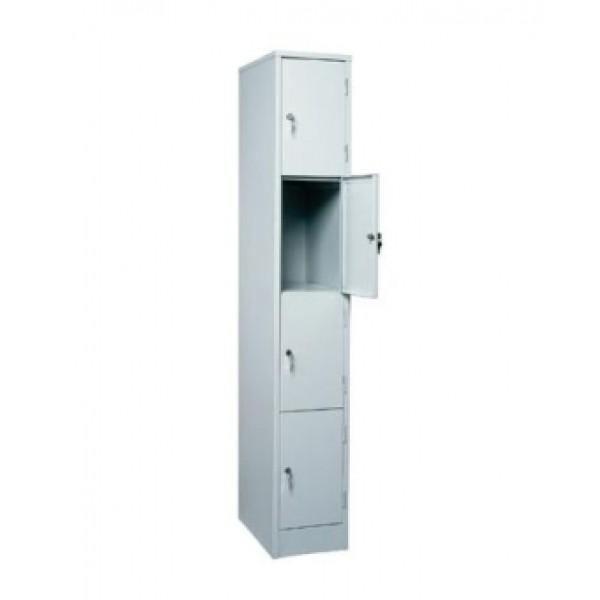 Шкаф для покупателей ШМ-14-1850х300х490, 4 секции
