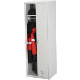 Металлический гардеробный шкаф ШМГ-2-1790х600х500