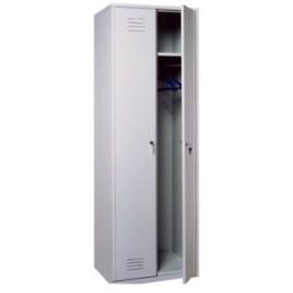 Металлический гардеробный шкаф ШО-2